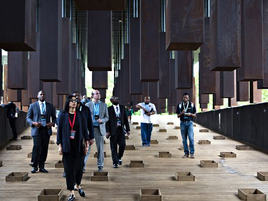 The National Memorial for Peace and Justice opens today, April 26 in Montgomery