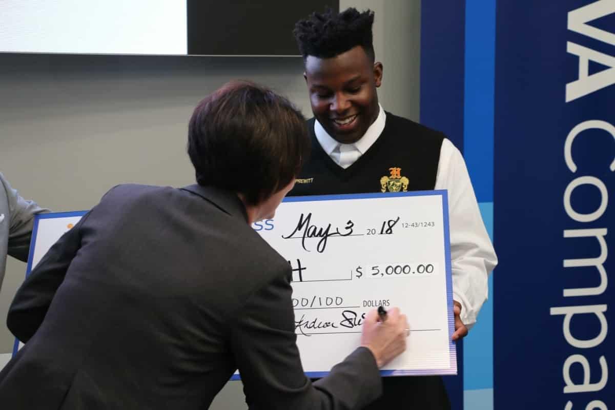 Huffman High student and Parker High School teacher win NextGen Competition