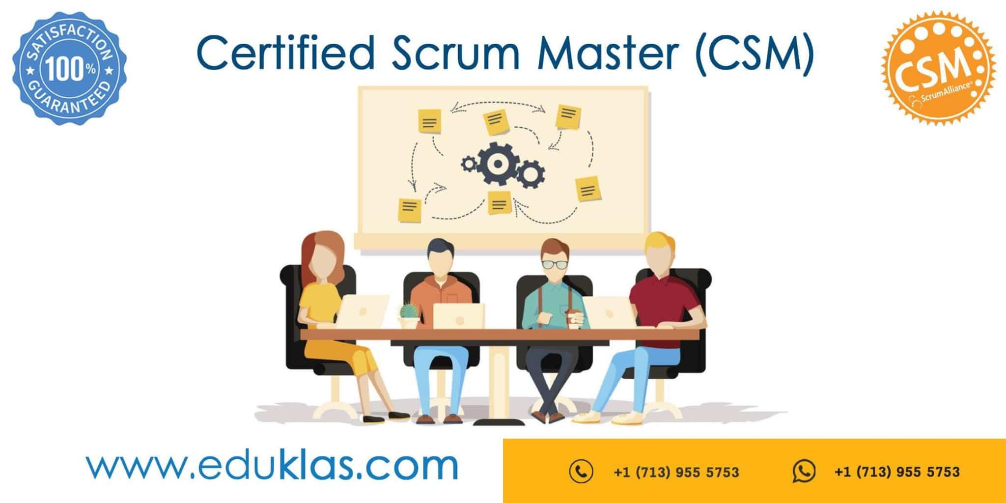 Agile Scrum Project Management Certification scrum master certification | csm training | csm