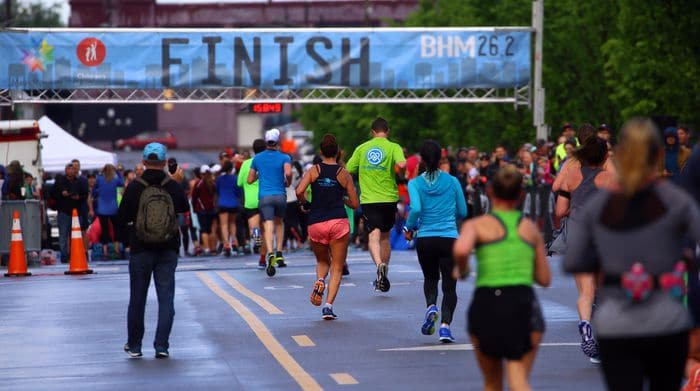 Everything you need to know about the BHM26.2 marathon. Get 10% off with code BHAMNOW10