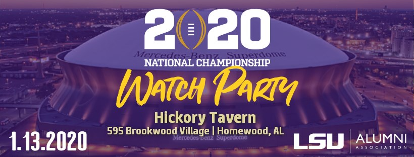 3 places in Birmingham to watch the LSU v. Clemson National Championship game