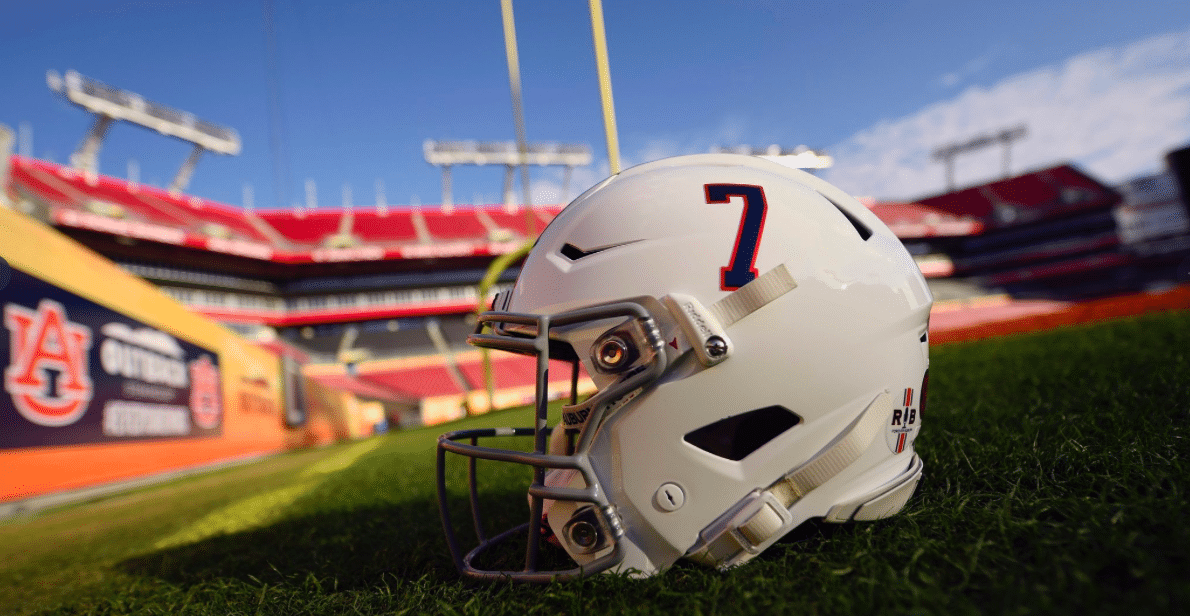 """""""For Pat."""" Auburn to honor Pat Sullivan with alternate helmet at Outback Bowl (See video)."""