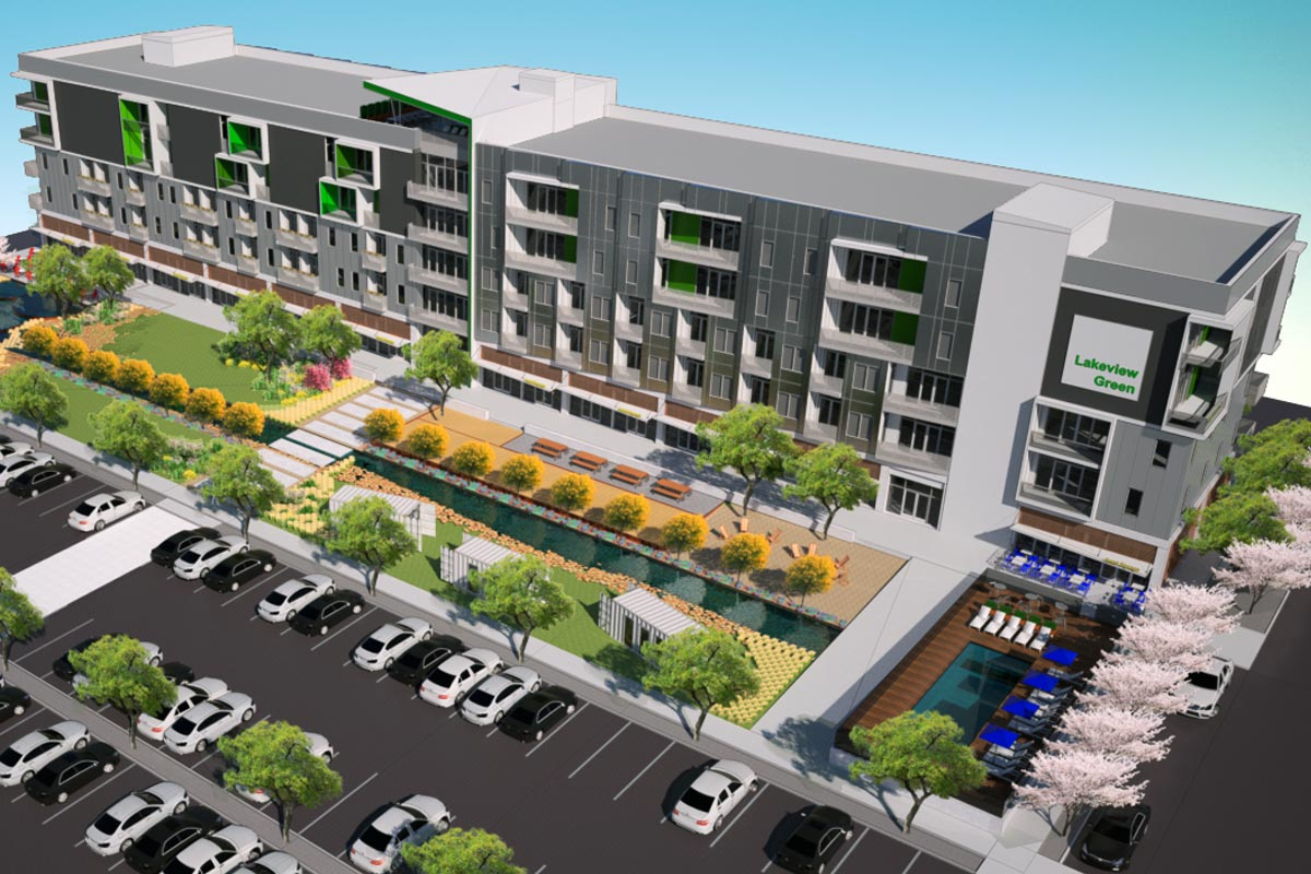 Mixed-use project, Lakeview Green, is coming to Birmingham's Southside