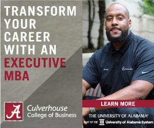 University Of Alabama E-Mba