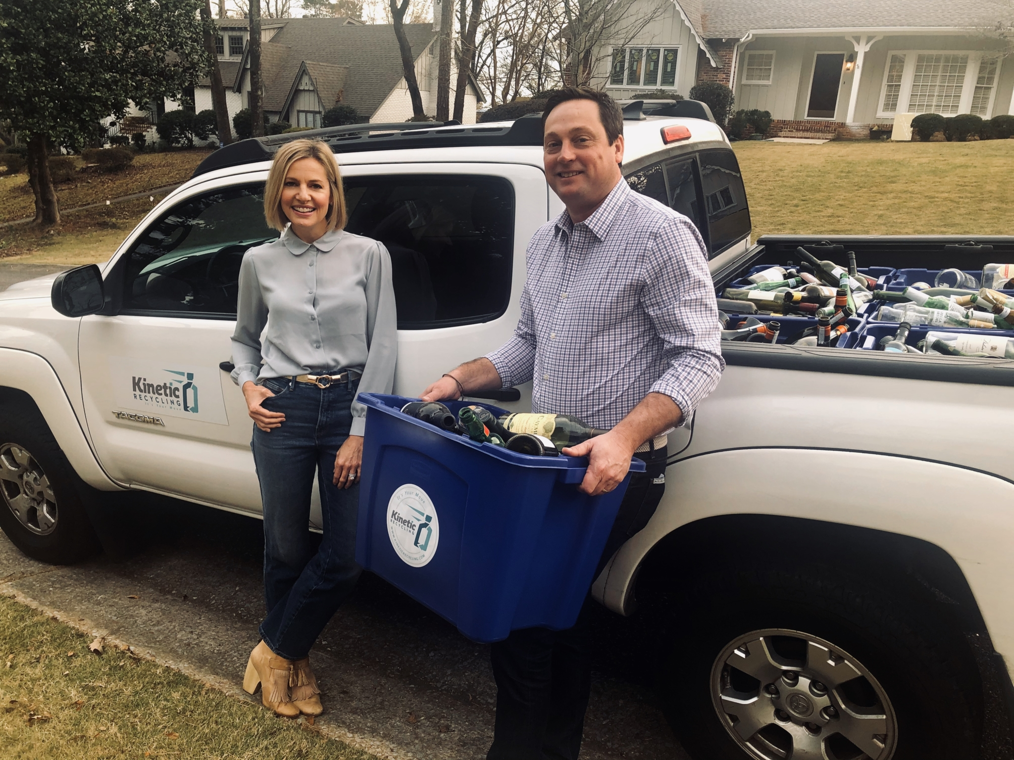 Bham area's only curbside glass recycling program is suspended