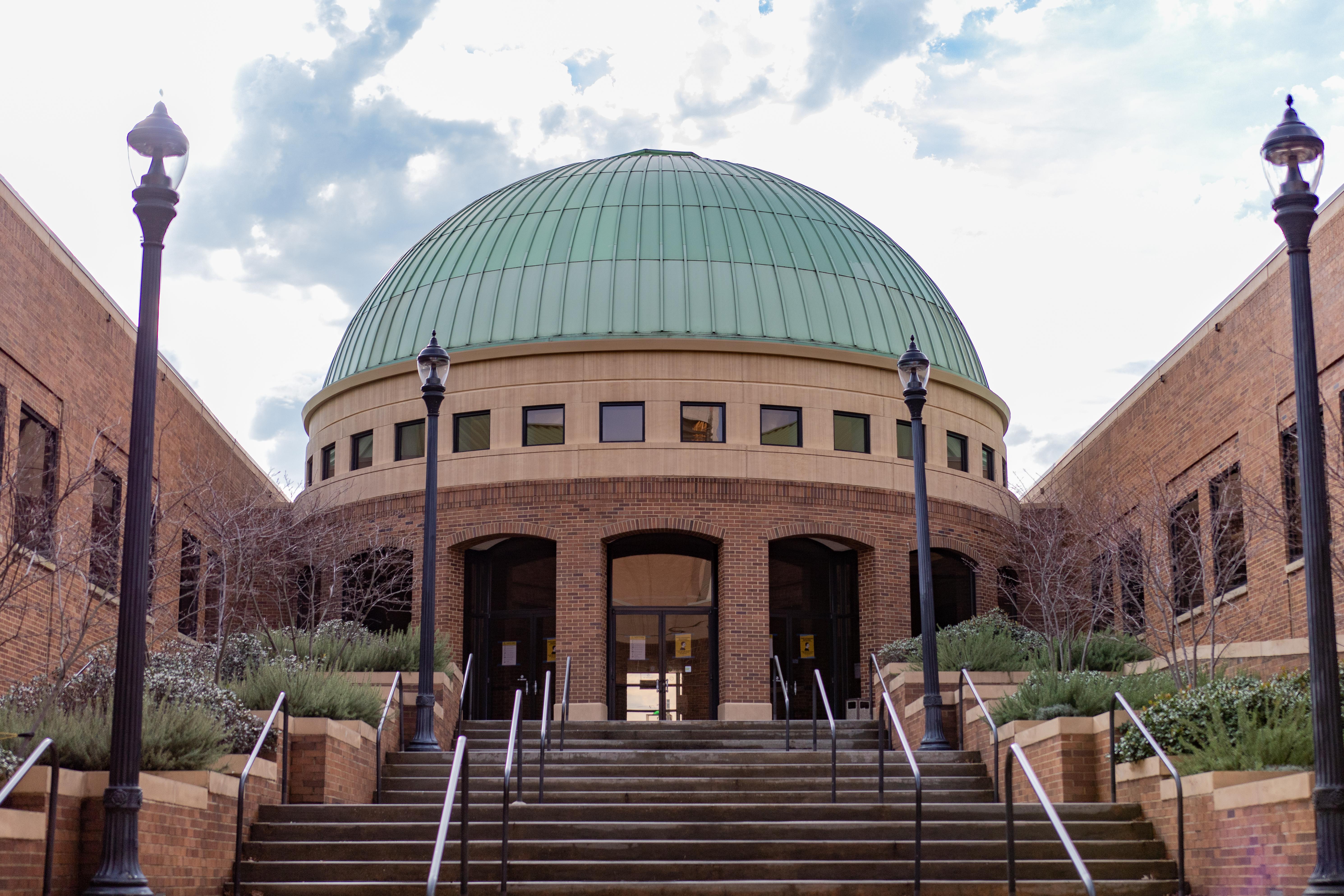 Birmingham Civil Rights Institute Dome Rails 4
