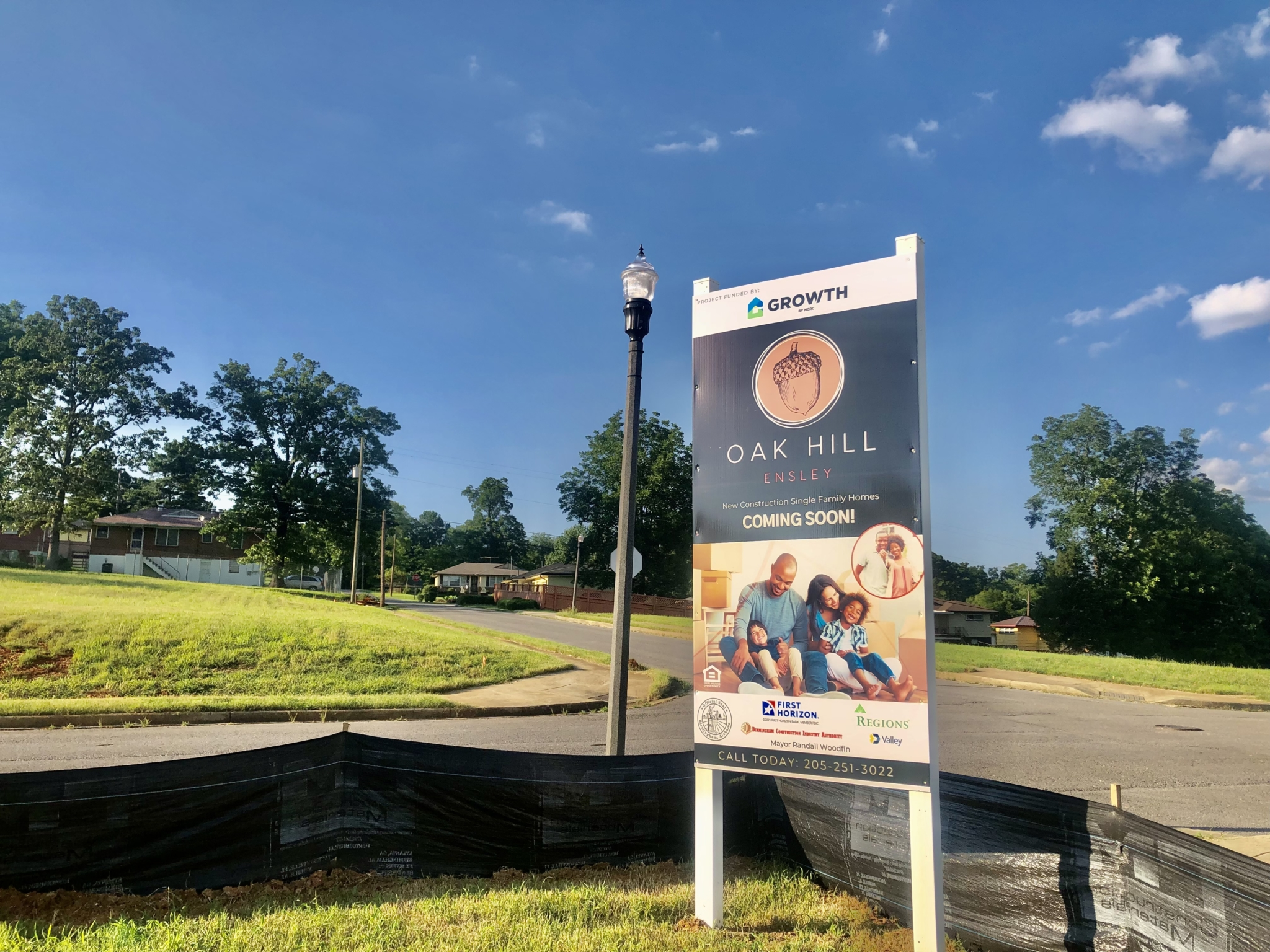 Birmingham signs M deal to build affordable homes in historic Ensley neighborhood