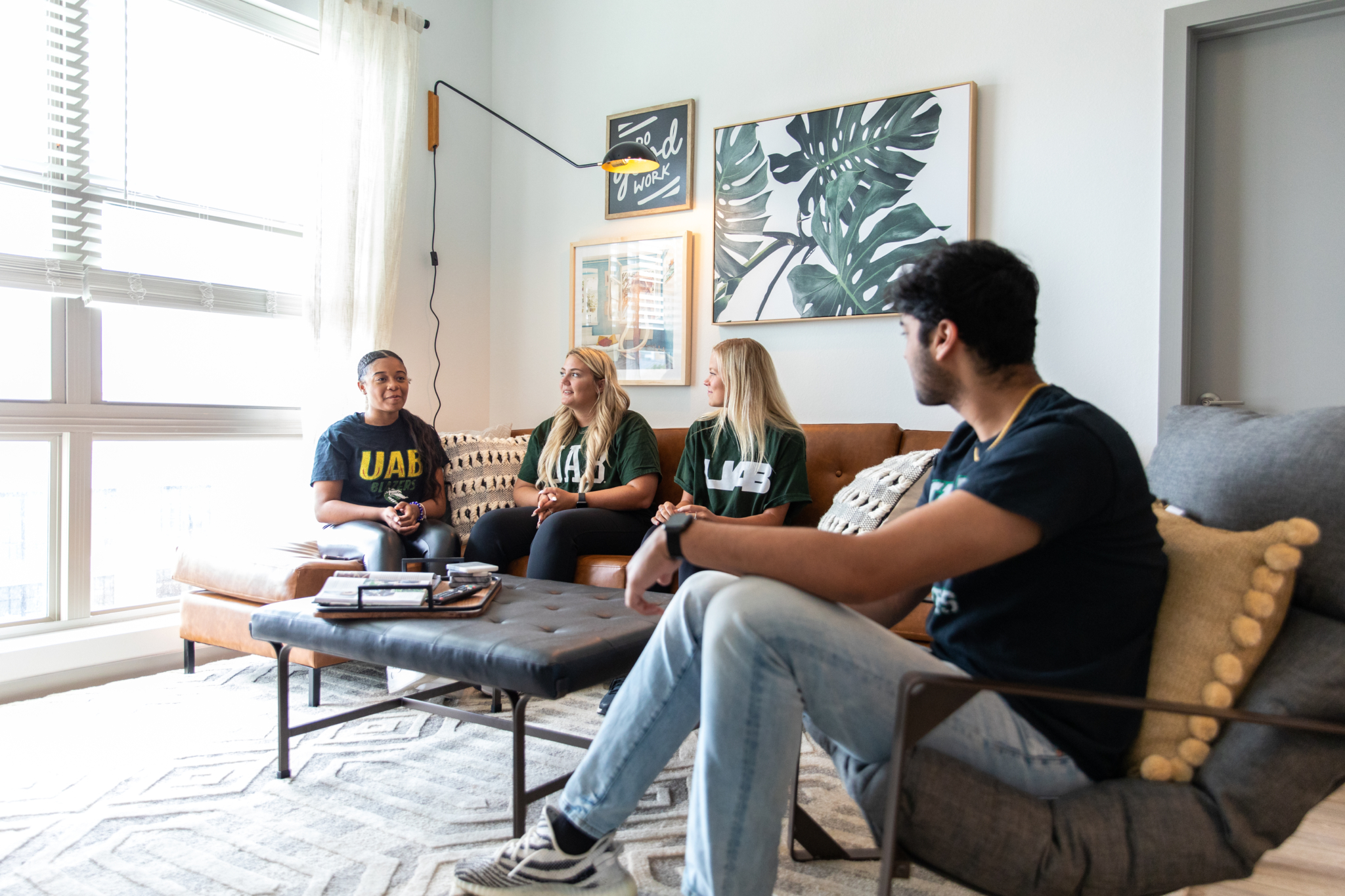 An inside look at Birmingham's great new student living, Lumen Above Railroad Park
