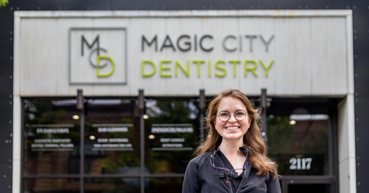 Meet Magic City Dentistry's new dentist, Dr. Mollie Helf