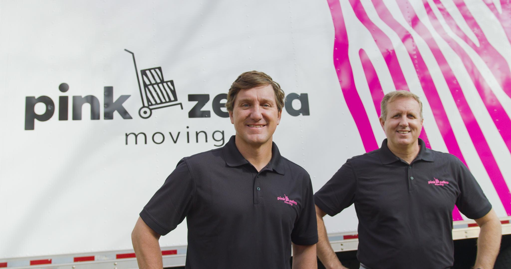 Local entrepreneur starts new venture, Pink Zebra Moving