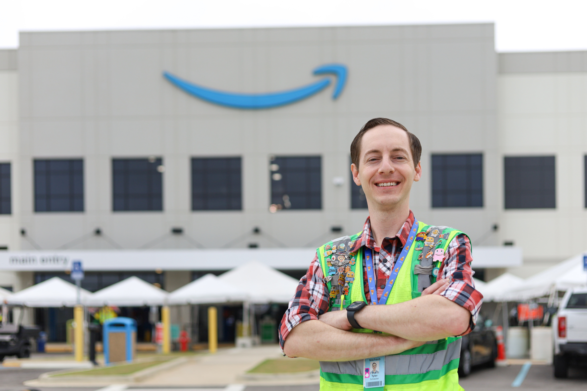 5 tips for keeping safe at work from Amazon medical rep. Tyler Schauber