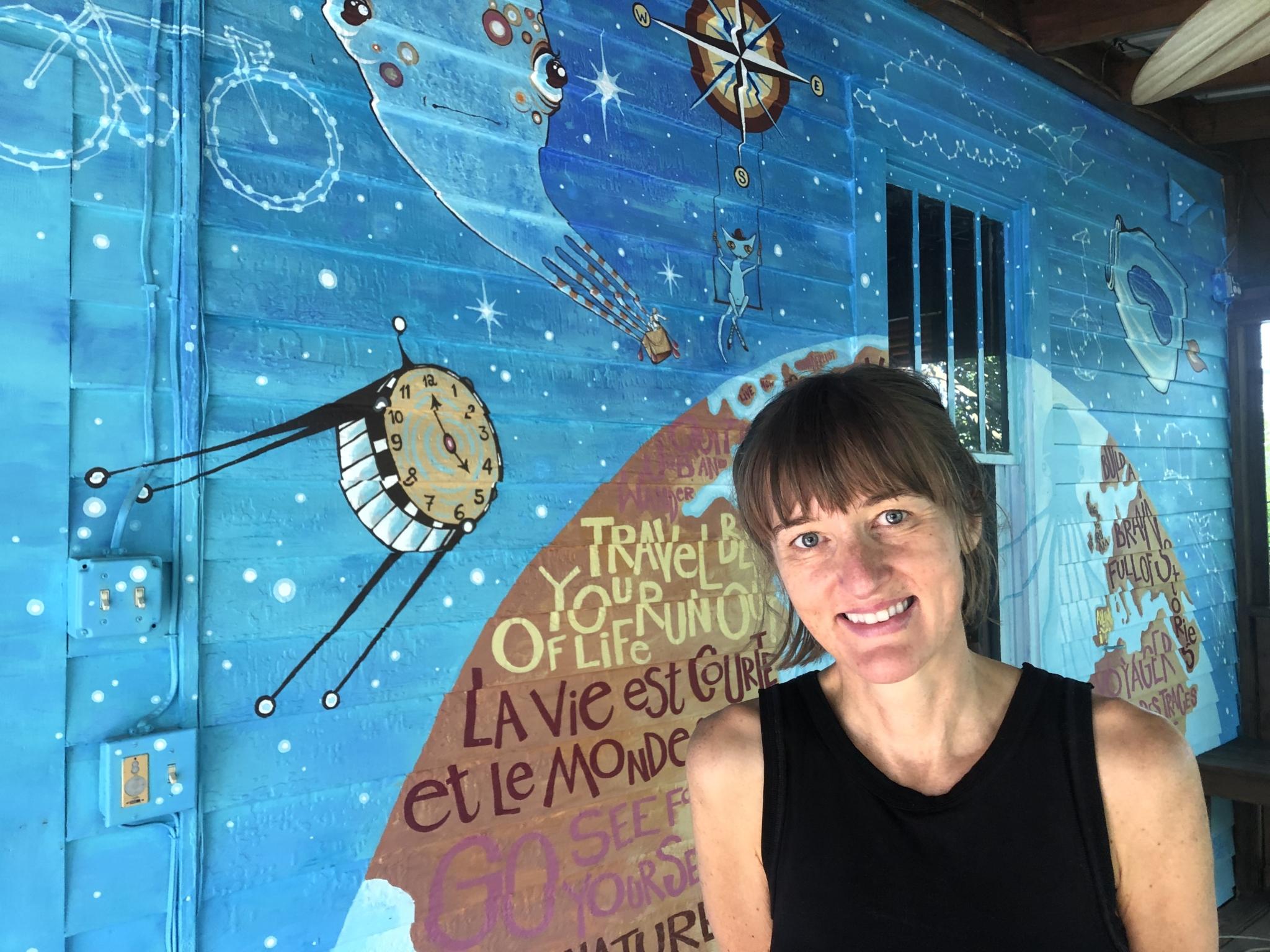 Véro's mural: The happiest back porch in Birmingham (photos)