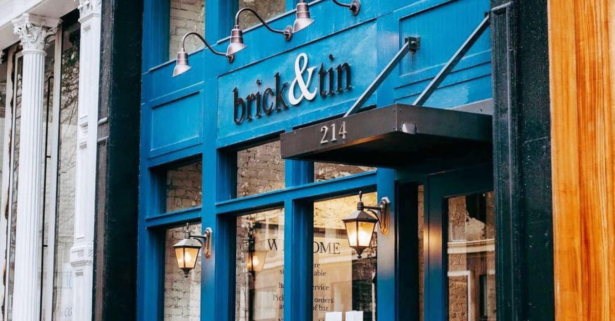 Brick and Tin, Boho Tea Bar and 3 more openings + reopenings that you need to check out