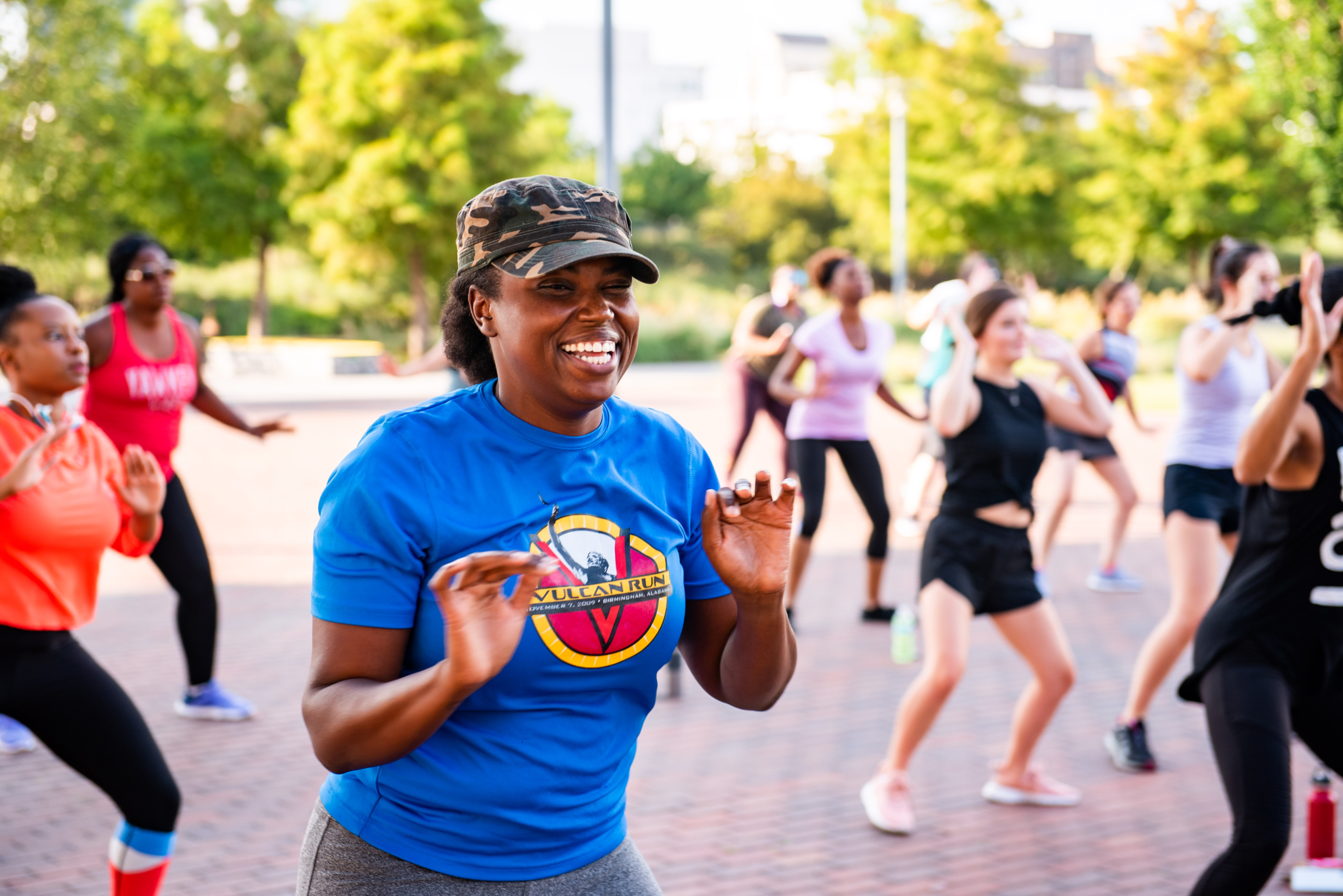 Fit and frugal: Free exercise classes in Railroad Park