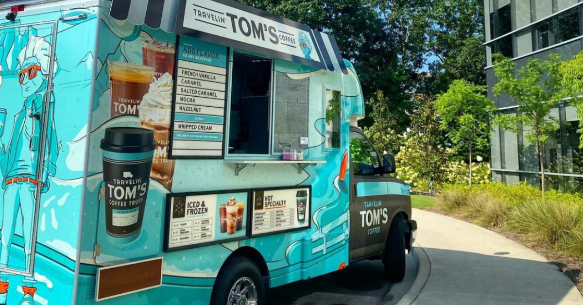 Travelin' Tom's Coffee Truck + 3 more openings that you'll love