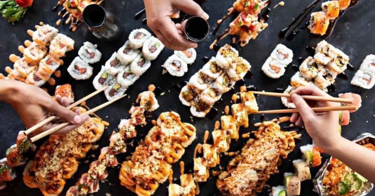 5 new openings for you to check out including Rock N Roll Sushi + Axehouse Billiards.