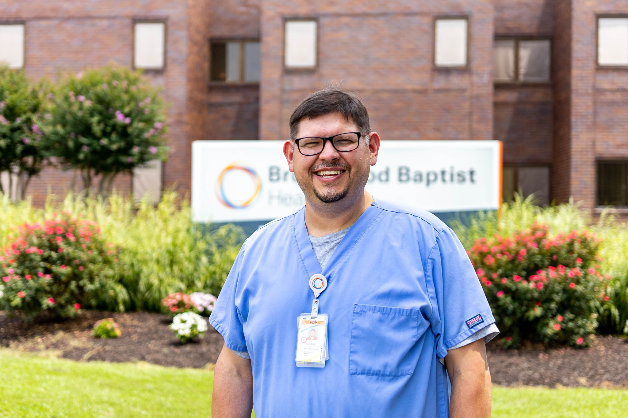Meet the singing physical therapy assistant at Walker Baptist who's also a pastor