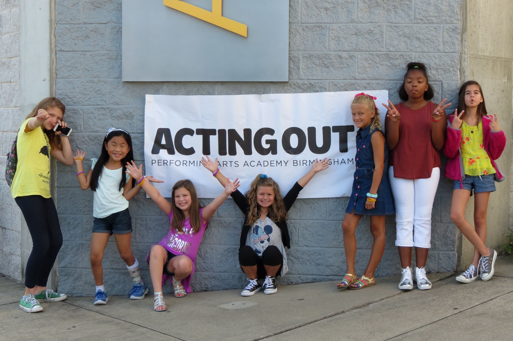 Acting Out Academy takes children on the journey to stardom