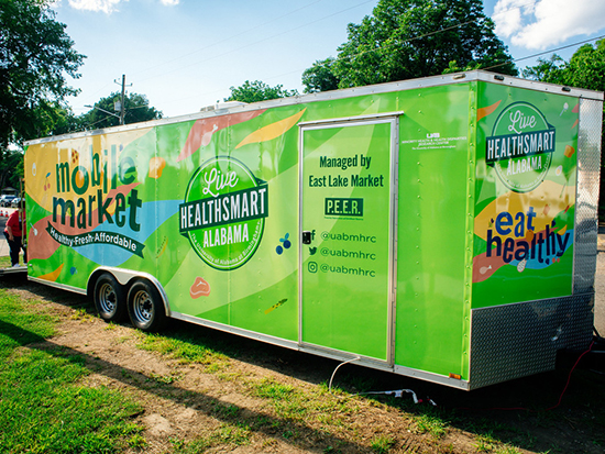 The grocery store on wheels is making its way to 4 new Bham communities