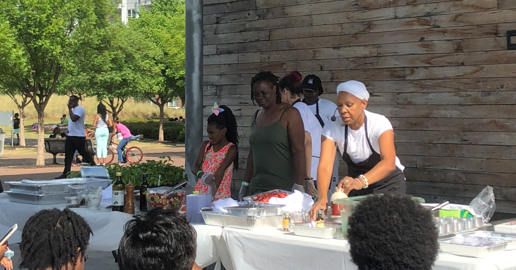 Whip up something tasty with FREE Cooking Classes in Railroad Park