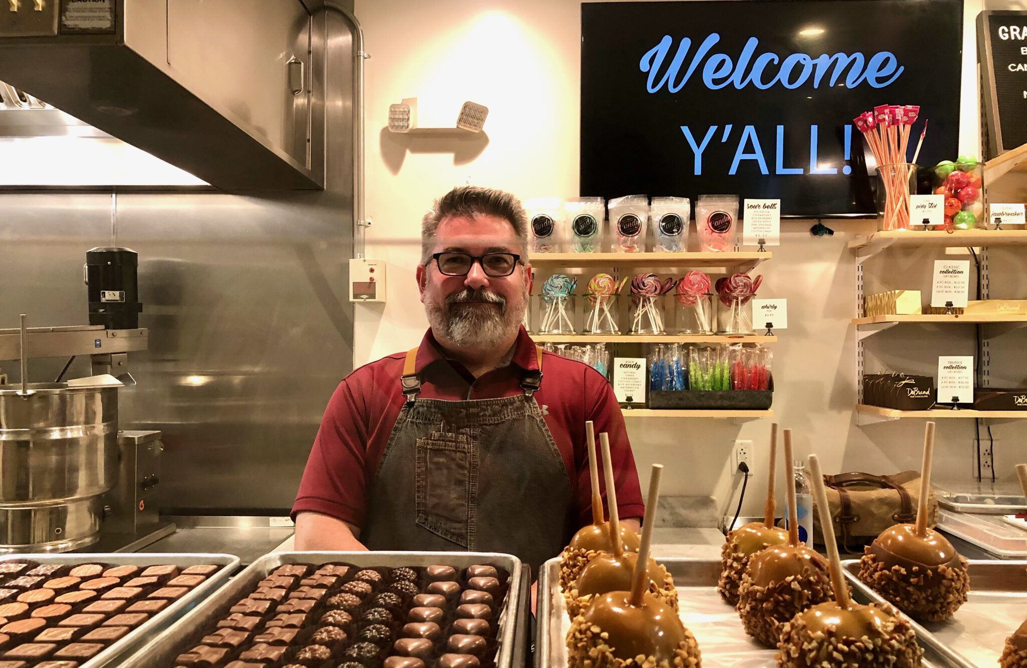 The secret's out—The Birmingham Candy Company to open in The Summit for the holidays