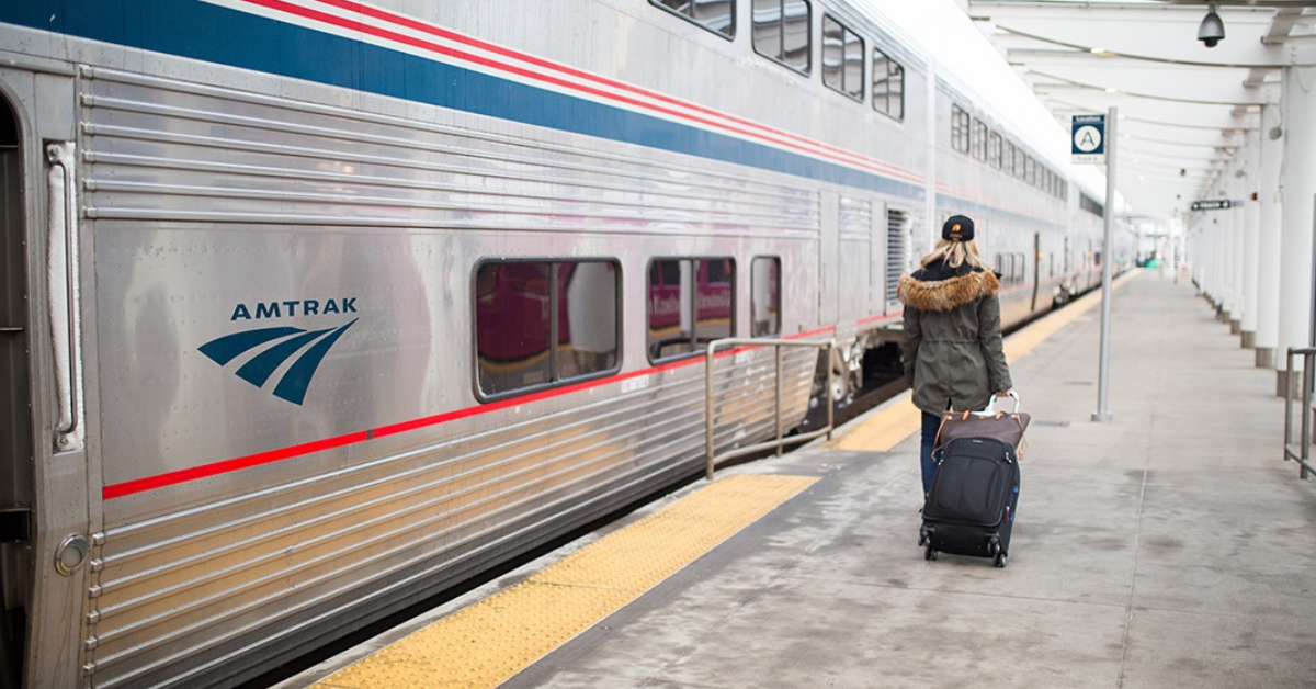 0,000 railroad grant awarded to The Magic City's Amtrak station by Southern Rail Commission