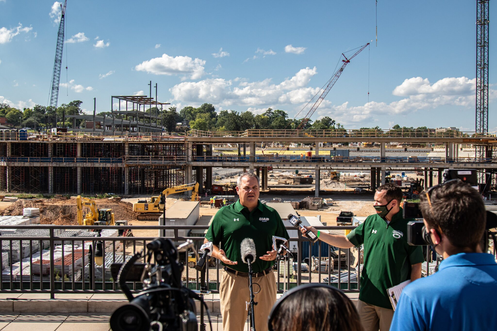 Excitement is building for the new stadium—Meet Mark Ingram: the man behind UAB athletics
