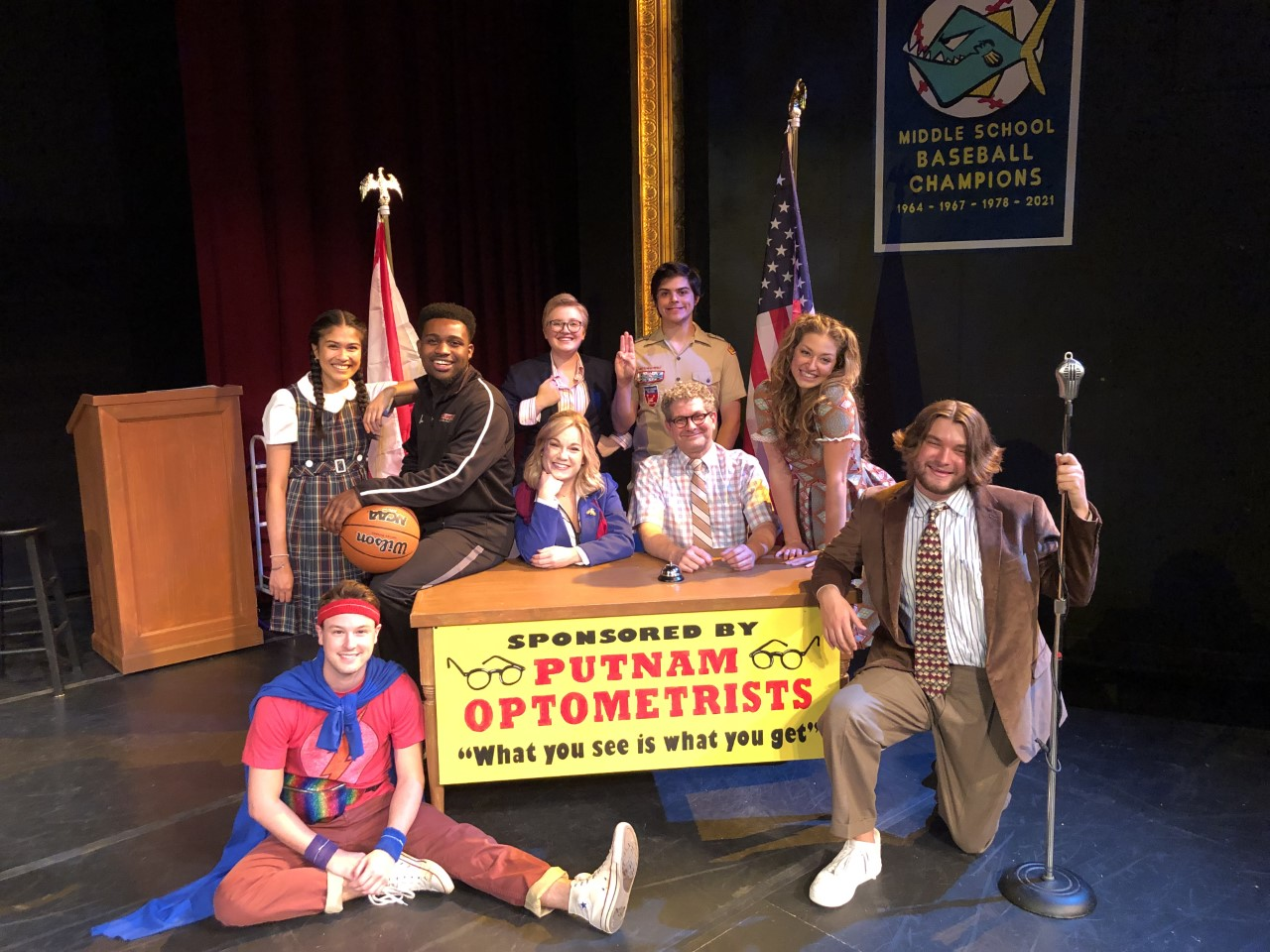 Virginia Samford Theatre's musical comedy will make you wish you were a spelling bee champ—find out why
