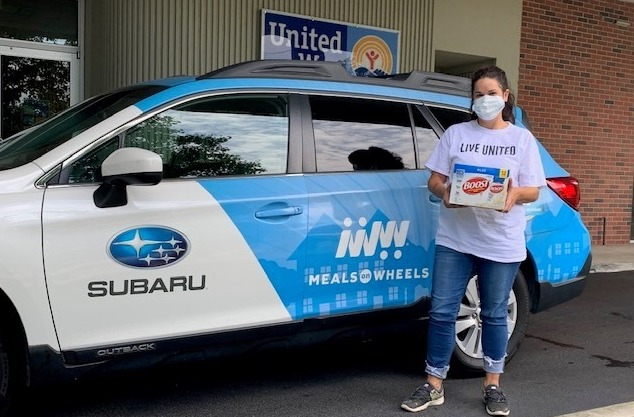 United Way's Meals on Wheels celebrates 5 years + largest municipal grant