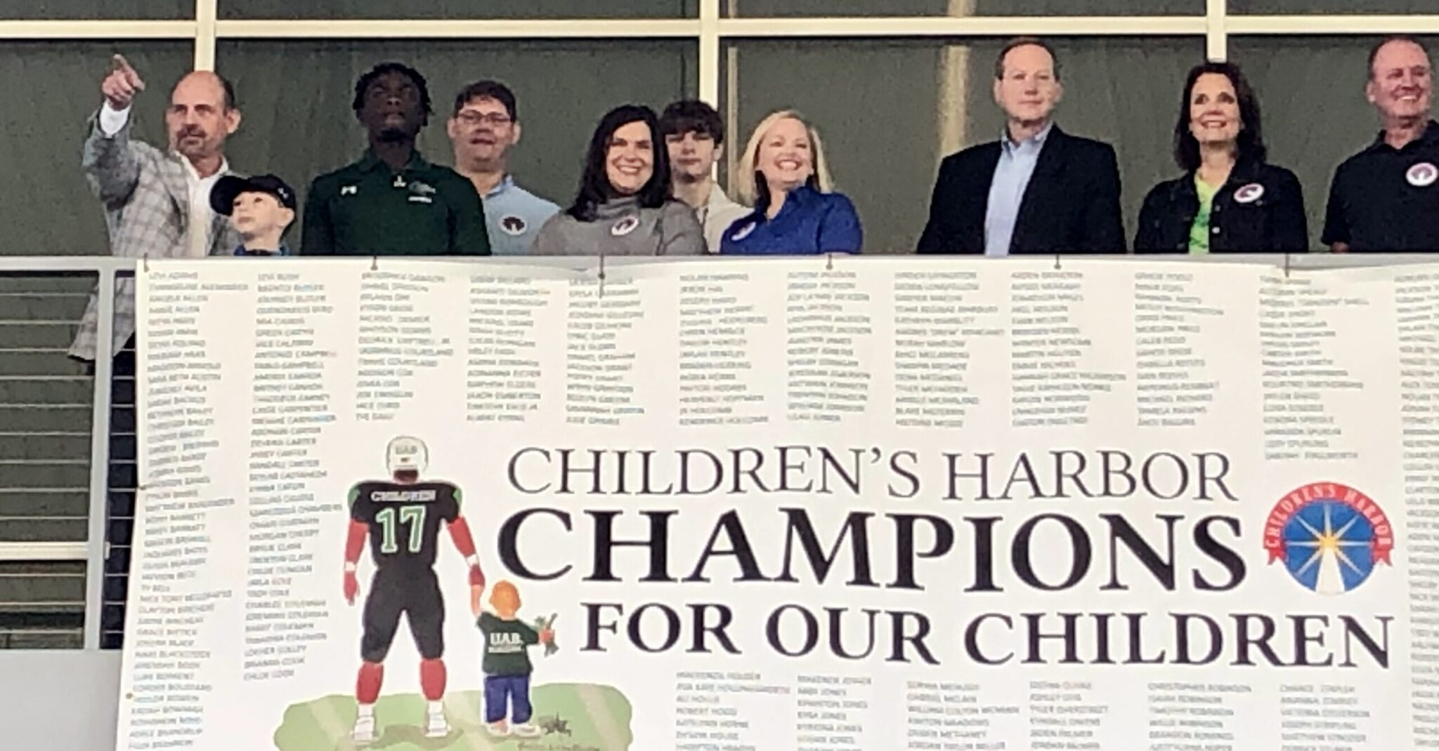 Football's best homecoming tradition: UAB wearing names of Children's Harbor kids on their jerseys
