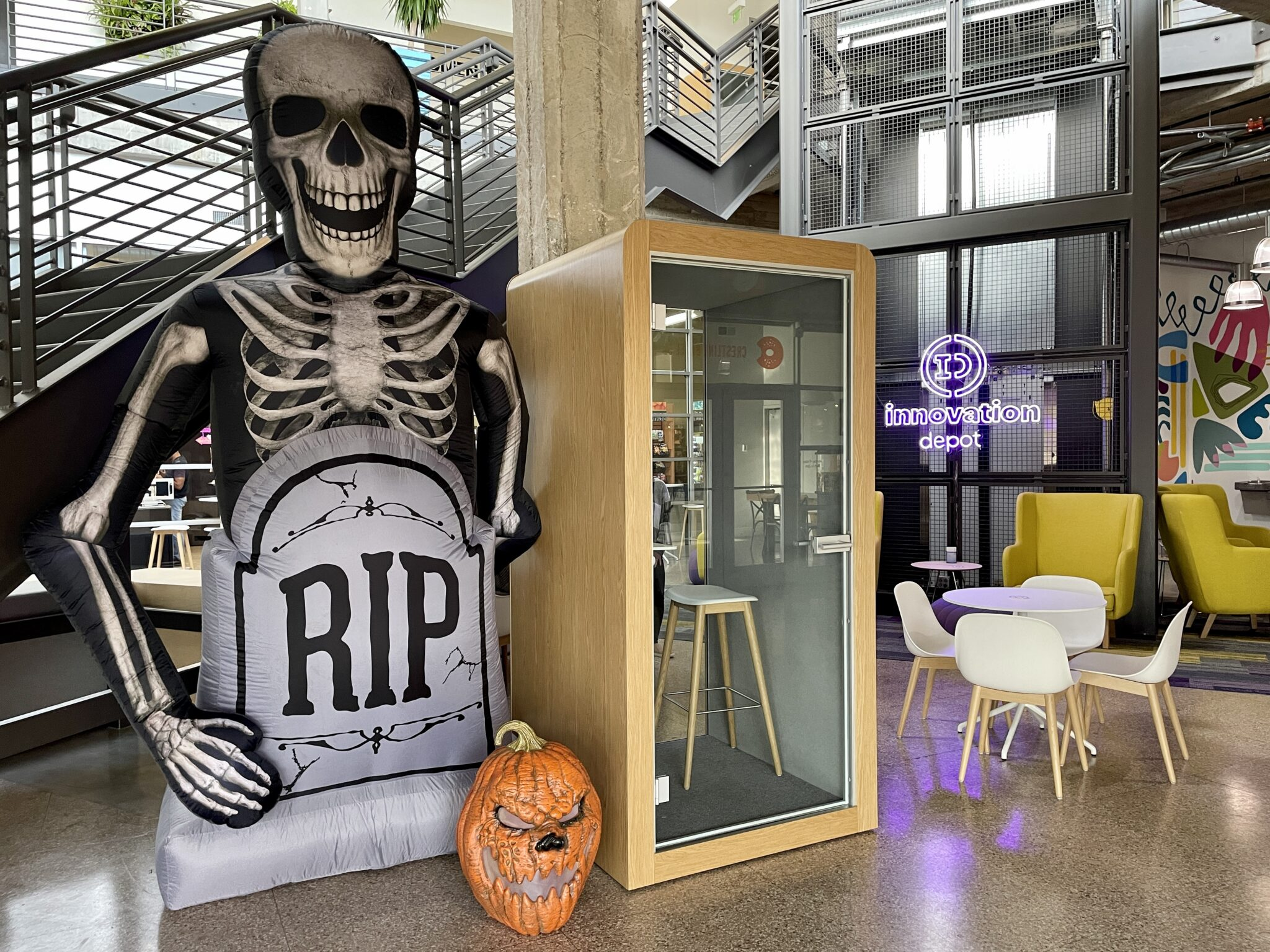 Get excited for Tech or Treat with Innovation Depot on Thursday, Oct. 28